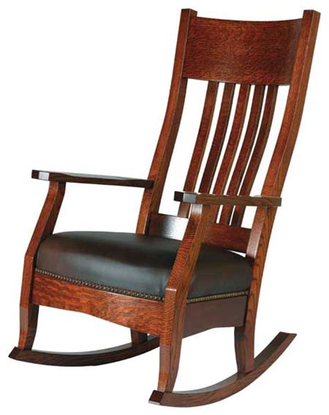 Up To 33 Country Mission - up to 33 mission rocker solid wood amish furniture