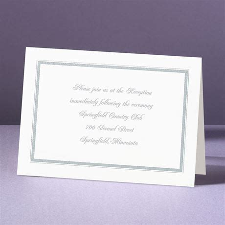 Wedding Reception Borders by Appealing Borders Reception Card S Bridal Bargains