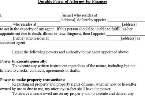 power of attorney template canada power of attorney form free premium templates