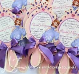 Birthday princesita sofia party ideas invitaciones de princesa