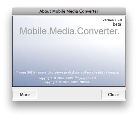 mobile converter mobile media converter para mac descargar