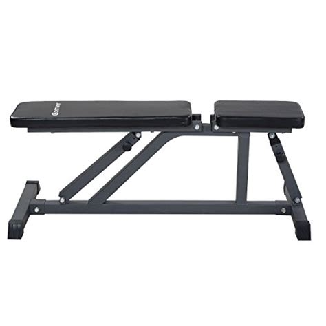 ab incline bench goplus 174 adjustable folding sit up ab incline abs bench flat fly weight workout