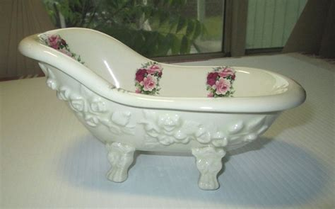 bathtub shaped soap dish clawfoot bathtub shaped soap dish rose theme