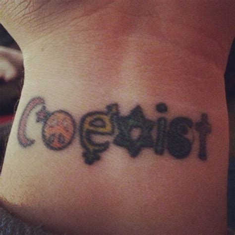 coexist tattoo 25 best ideas about coexist on chakra