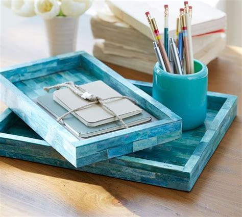 Turquoise Desk Accessories Pottery Barn Pottery Barn Desk Accessories