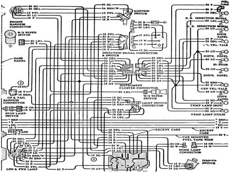 1973 chevy wiring diagram wiring diagram with
