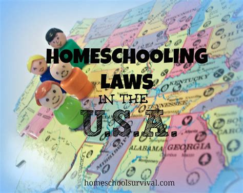 Home Schooling Requirements by Homeschooling Laws In The U S Homeschool Survival