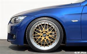 Bmw Bbs Rims Le Mans Blue Bmw E92 335i Hops On Bbs Lm Wheels