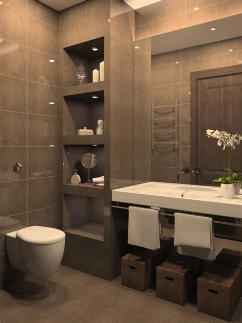 Relaxing Bathroom Ideas 49 Relaxing Bathroom Design And Cool Bathroom Ideas Brown Walls Large White And Basin