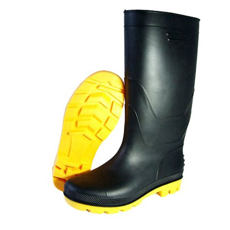 chemical boots pvc white slaughterhouse chemical safety boots factory