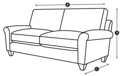 sofa seat depth measurement how to measure sofa depth brokeasshome com