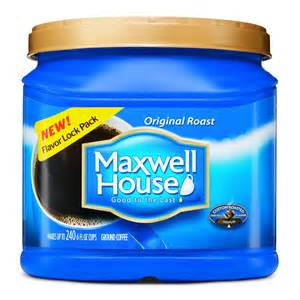 original maxwell house coffee special offer target
