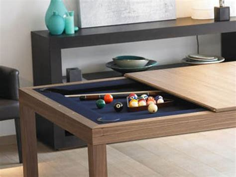 Pool Table Coffee Table Dining And Coffee Tables With Built In Practical Furniture For Evenings Digsdigs