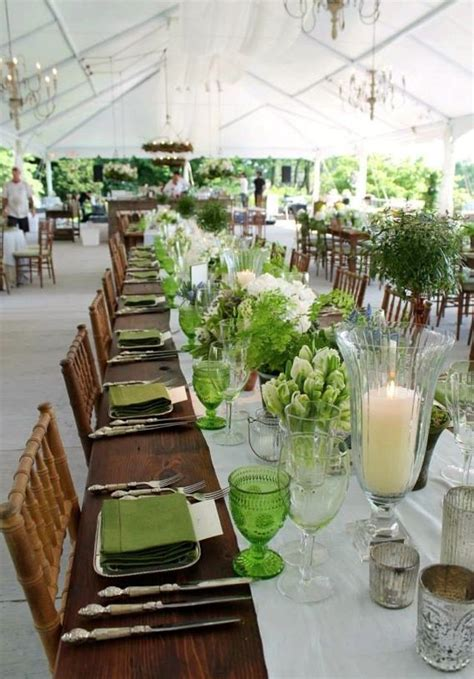 inspiring green beach wedding ideas lime green