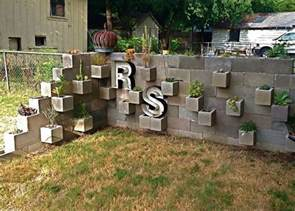 cinder block garden ideas furniture planters walls and