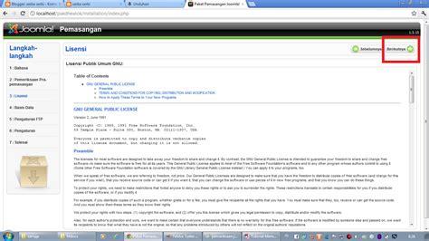 membuat website offline dengan joomla serba serbi membuat website dengan joomla