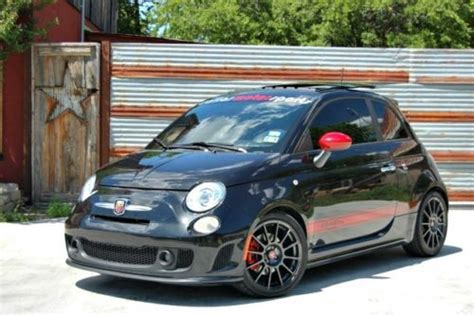 sell used nero abarth serviced new clutch eibach