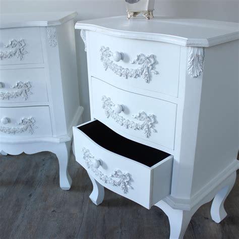 pays blanc range furniture bundle pair of antique white