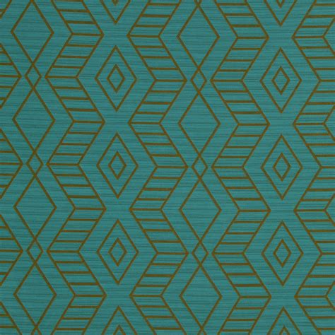 geometric fabric upholstery on sale turquoise geometric upholstery fabric turquoise