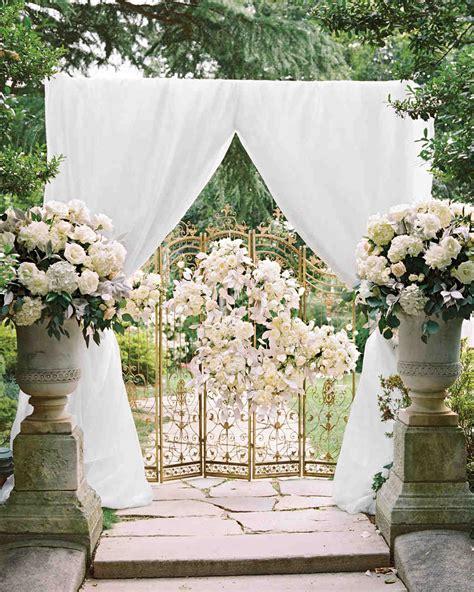 Wedding Ceremony Arch by A Parisian Ballet Inspired Wedding In D C Martha