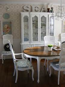 french country dining room by linda hilbrands