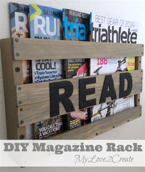diy magazine rack for bathroom diy magazine rack