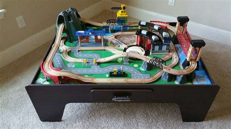 Imaginarium Table Layout by Imaginarium Mountain Rock Table 14 Wooden Trains