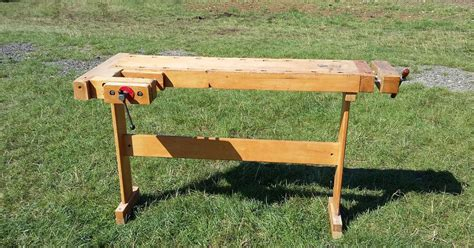 lervad bench david barron furniture two legged work bench on e bay