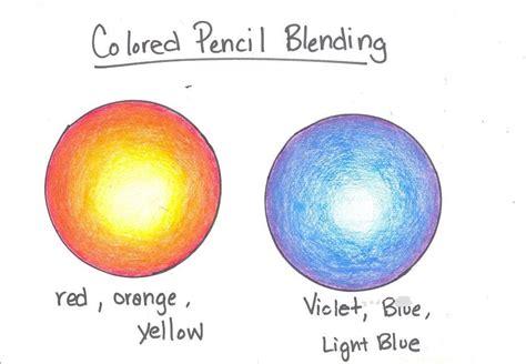 color blending colored pencil blending for high school students