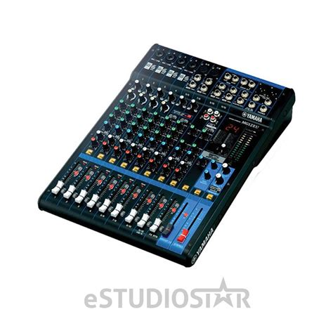 Mixer Audio Yamaha 8 Channel yamaha mg12xu 12 input stereo mixer w effects and usb