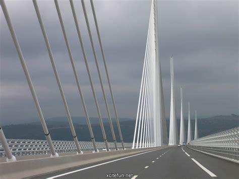 millau viaduct bridge world highest bridge wallpapers