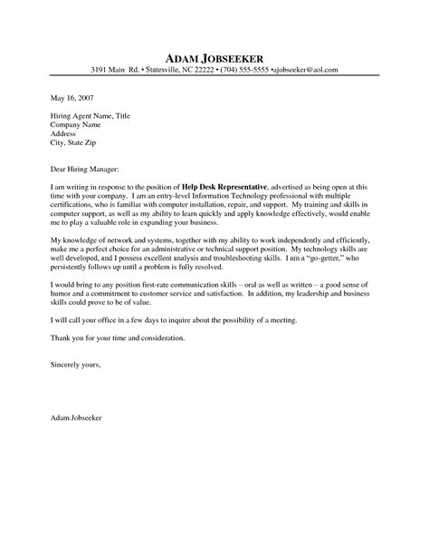 Service History Letter cover letter sle for entry level customer service