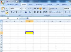 Interior Colorindex Naushad Qamar Highlight Active Cell In Ms Excel 2007