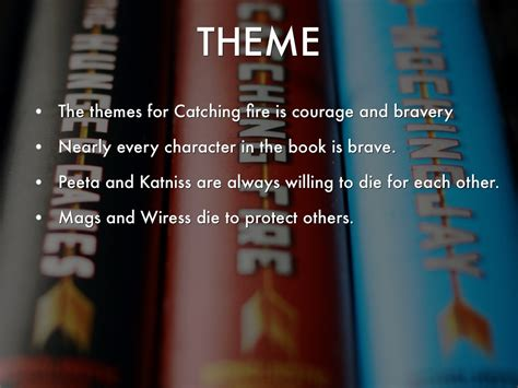 themes in hunger games book the hunger games catching fire by myles carr