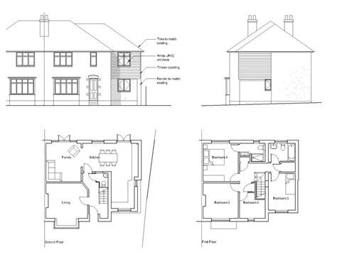 House Extension Layout   semi detached extension layout ideas google search