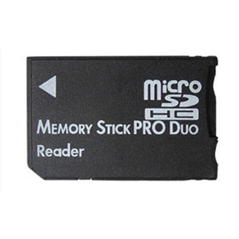Memory B Pro micro sd sdhc tf to memory stick ms pro duo psp card reader adapter converter black lazada
