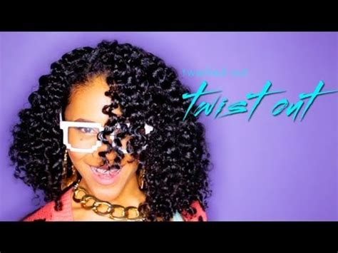 twist out hairstyle for curly