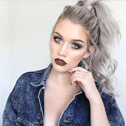 hair 2015 style silver hair is the hottest fashion trend for 2015