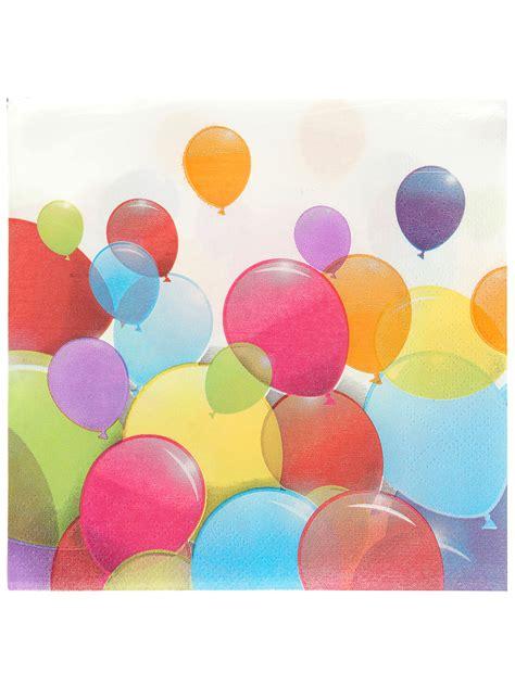 palloncini volanti 20 tovaglioli palloncini volanti su vegaooparty negozio