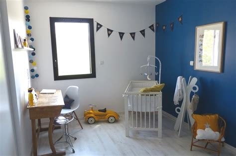 chambre bebe garcon bleu gris deco chambre bebe garcon bleu canard