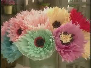 How To Make Large Crepe Paper Flowers - how to make large crepe paper flowers martha stewart