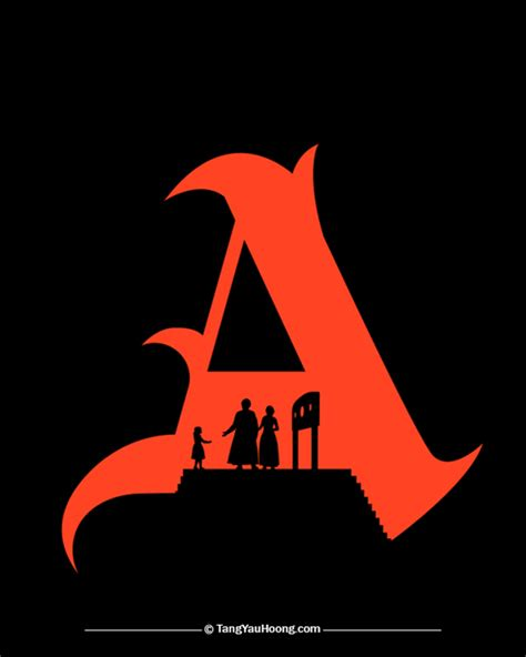 The Scarlet Letter scarlet letter quotes about nature quotesgram