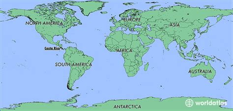 where is costa rica on a world map where is costa rica where is costa rica located in the