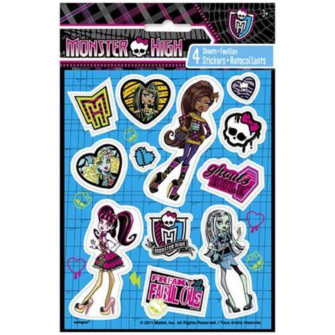 printable stickers walmart monster high stickers walmart ca