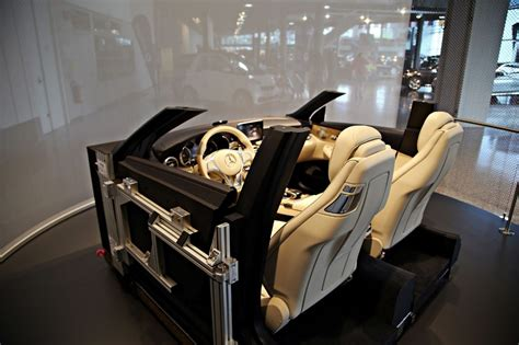 mercedes museum interior mercedes museum features interior cabin of 2015