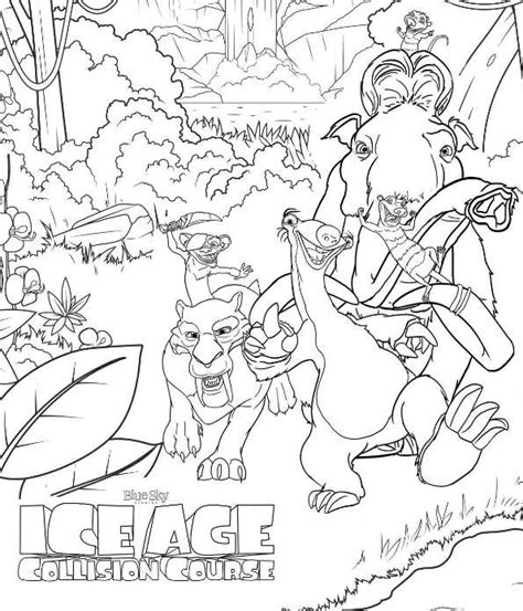 age coloring pages n coloring page age collision course