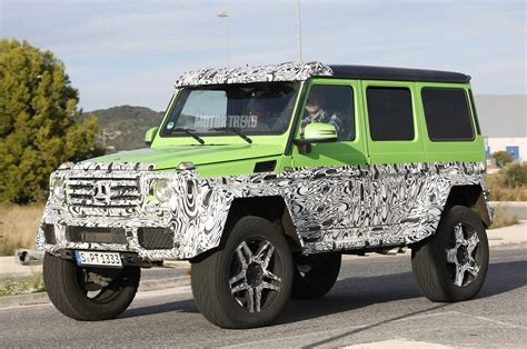 mercedes g class 6x6 spied mercedes g class prototype sports g63 amg 6x6 parts