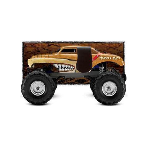 traxxas jam trucks traxxas mutt fed fjernstyret bil vandt 230 t og