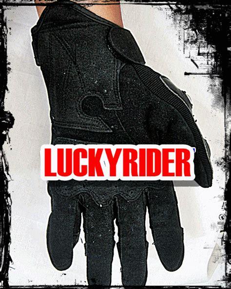 Sarung Tangan Kulit Hitam Polos sarung tangan impor lucky rider