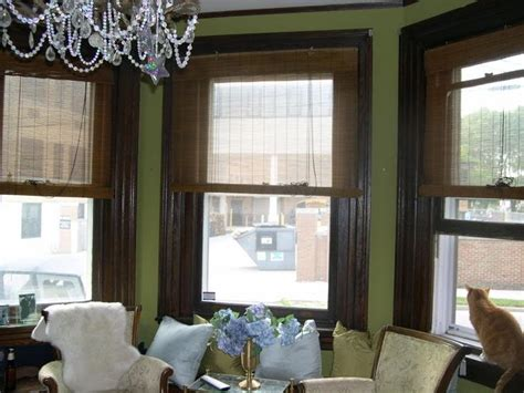 green walls with wood trim wood trim